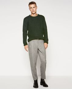 Image 1 of MOHAIR SWEATER from Zara