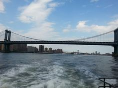 Manhattan Bridge in the wake