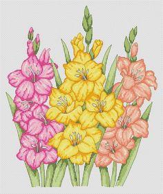 Blackwork Cross Stitch, 123 Cross Stitch, Cross Stitch Flowers, Modern Cross Stitch, Cross Stitch Designs, Cross Stitching, Cross Stitch Embroidery, Cross Stitch Patterns, Hand Embroidery Patterns Flowers