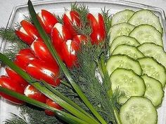 Comments on the topic Crudite Platter, Food Art, Watermelon, Appetizers, Carving, Yummy Food, Stuffed Peppers, Vegetables, Recipes