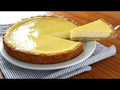 Tarta de yogur BARATA, fácil de hacer y ¡Muy rica! - YouTube No Bake Pies, Apple Desserts, Tart Recipes, Empanadas, Cheesecakes, Allrecipes, Camembert Cheese, Mousse, Food And Drink