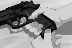 When you seek revenge dig two graves. Gun Aesthetic, Aesthetic Movies, Aesthetic Images, Aesthetic Videos, Aesthetic Anime, Dark Anime, Old Anime, Anime Art, Arte 8 Bits