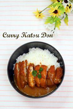 カレーかつ丼 Curry Katsu Don