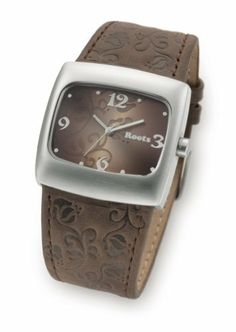 Women's Roots Leather Watch by Roots. $39.99. Women's Roots Leather - band Watch accessorizes your ensemble for MUCH LESS! The perfect splash of style. Stunning ladies' Watches with fantastic flair. Each looks just as great dressed up with business attire as it does with casual wear. Your choice of styles makes these timeless timepieces as versatile with your entire wardrobe as they are valuable at keeping you on schedule. Big Close-Out savings, too! Watch this: A variety...