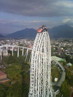 Dodonpa @ Fuji-Q Highland #rollercoaster