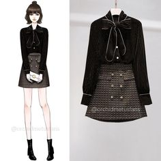 Korean Girl Fashion, Korea Fashion, Dope Outfits, Casual Outfits, Fashion Outfits, Gowns For Girls, Girls Dresses, Gucci Dress, Girl Dress Patterns