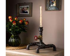 Lampe steampunk Vintage éclairage avec des perspectives modernes tuyau industriel lampe pour les feux de pont