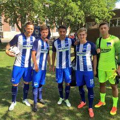 Ceci est le nouveau Maillot de foot Hertha BSC pour la saison 2016/2017;
