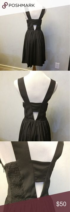 NWT A new York black dress Brand new with tags V cut out back A New York Dresses Midi