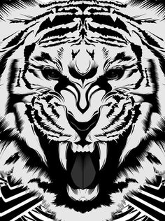 #art #baby #tiger