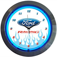 Decorate your den, office, bedroom, mancave or garage the way YOU want it!!! (With her permission of course). With neon lights!! match your theme with any of our 15 inch neon clocks. Click to buy. The