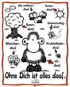 Sheepworld postcards