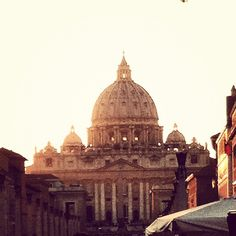 St. Peter's home. Rome Italy
