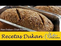 Pan Dukan rico en proteína: Diet Pain 3.10 (fase Crucero) / Lowcarb Bread, Dukan Diet - YouTube Points Plus Recipes, No Carb Recipes, Diet Recipes, Pan Dukan, Dukan Diet, Wheat Belly Recipes, South Beach Diet, Low Carbohydrate Diet, Diabetic Snacks