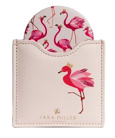 Loving this White Peacock Cosmetic Mirror on #zulily! #zulilyfinds