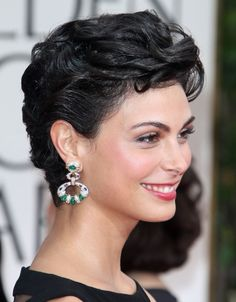 Morena Baccarin short curly hairstyles - Google Search