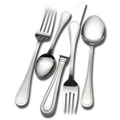 @Overstock - This Wallace 78-piece Continental Bead flatware set is crafted from premium 18/0 stainless steel to deliver outstanding beauty and performance. The handle of each piece features a subtle bead trim that adds a sophisticated elegance to your table setting.http://www.overstock.com/Home-Garden/Wallace-Home-Continental-Bead-78-piece-Flatware-Set/7588126/product.html?CID=214117 $89.99