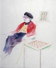 Earlier Hockney: Man Ray, ...