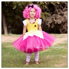 Lalaloopsy Crumbs Sugar Cookie Tutu Dress. Great as a by NaomiBlu, $55.00