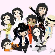 michael jackson chibi - Google Search