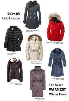 Seven Warmest Coats