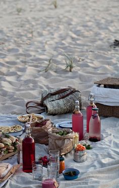 ≡ summer beach picknick