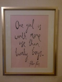 PETER PAN handwritten quote print by ChildAtHeartArt on Etsy