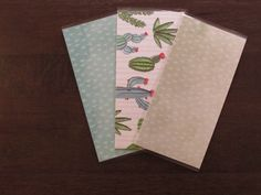 Excited to share this item from my #etsy shop: Laminated Cash Envelopes-Cacti  #cacti #cashenvelopes #budgeting #debtfree
