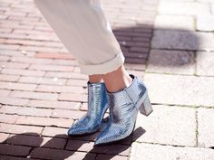 Kat Maconie Baby Blue Stella featured on the Cocorosa blog!  In stock / £230