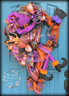 Guirnalda guirnalda de Halloween Deco malla guirnalda