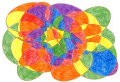 DRAWING: With colored Pencils metal inset design - Google Search