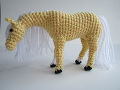 PDF Crochet Horse Pattern  Crochet Animal by ntuckercreations, $5.00
