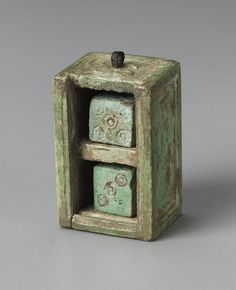 Greek or Roman, Box containing two dice Museum of Fine Arts, Boston