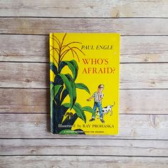 New in The Book Cottage: First Edition Children's Book Who's Afraid Paul Engle Farm Book Corn Field Young Boy Dog Story Pony Book Exploring Tale Kids Classic Book by TheBookCottage