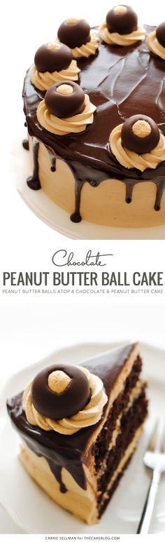 Peanut Butter Ball Cake – HAND IT OVER ALREADY!!