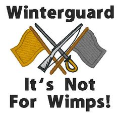 Winterguard Embroidered Flour Sack Towel-Choose Flag and Script Colors