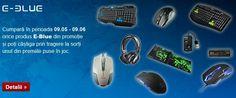 Castiga periferice PC cu E-Blue