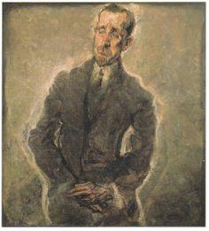 Max Oppenheimer - Portrait Of Heinrich Mann Santa Monica, One Decade, Authors, Writers, Fine Art, Expressionism, Sketchbooks, Faces, Portraits