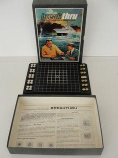 Vintage 1965 3M Bookshelf Game Breakthru by marketsquareus on Etsy