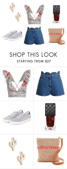 """OUTFIT №3"" by alexandrabarsuk on Polyvore featuring мода, Zimmermann, Valentino, Barbour, Gucci, Sole Society и SR Squared by Sondra Roberts"