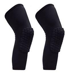 Reachs 1 Pair / 2 Pcs Kneepad Honeycomb Knee Pads Leg Knee Sleeve Knee Sleeves, Honeycomb, Basketball, Socks, Pairs, Legs, Fashion, Moda, Fashion Styles