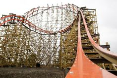 Roller Coaster Science: It's Niftier Than You Think - a discussion of the design of the world's biggest wooden roller coaster in Gurnee, IL - Goliath.