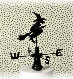 how to: mini Halloween weather vane