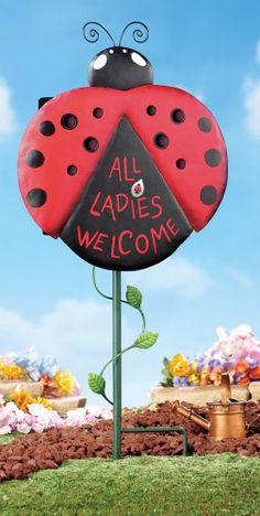 Ladybug House Garden Stake Collections Etc http://www.amazon.com/dp/B00IPZHV0O/ref=cm_sw_r_pi_dp_EQW4tb04XZKNF