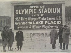 """Lake Placid, site of the 1932 Olympic Winter Games. (Also the 1980 Winter Olympics... Remember the """"Miracle on Ice""""?)"""