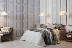 Más en www.lamallorquina.com Bed, Furniture, Home Decor, Duvet Covers, Beds, Yurts, Colors, Homemade Home Decor, Stream Bed