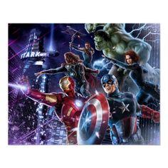 Avengers Group 11 Print