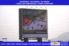 Outdoor Media Banners Through Billboards for Concessioners At Mahalaxmi - Global Advertisers