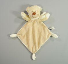 Doudou plat ours beige Tex Baby garçons in Bébé, puériculture, Peluches, doudous | eBay