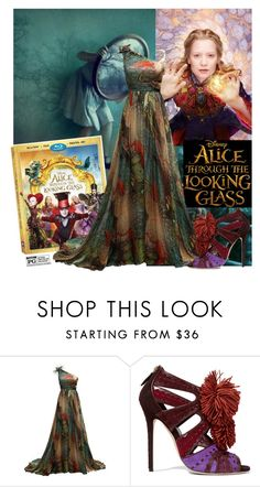 """""""Alice Returns"""" by joyfulnoise1052 ❤ liked on Polyvore featuring Brian Atwood, contestentry and DisneyAlice"""